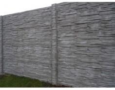 Betonový sloup OZDOBNÝ pro jednostranný plot