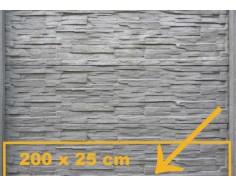 Betonová deska 11 malá pro jednostranný plot