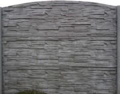 Betonový plot 12 jednostranný přírodní