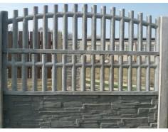Betonový plot 22 jednostranný přírodní