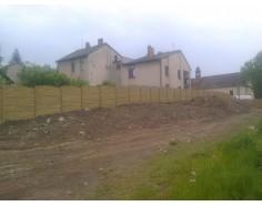 Betonový plot 12 jednostranný pískový