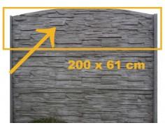 Betonový sloup - výška 1,5 m